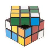 Color cube puzzle — Stock Photo
