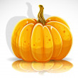 Beautiful Halloween pumpkin 1 — Stock Vector