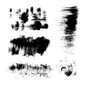 Hand-drawing texture stiff brush strokes — Stock Vector