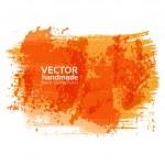 Handdrawing textured brush strokes on white banner — Stock Vector #29071735