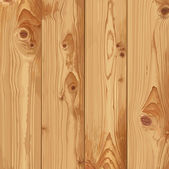 Realistic texture of pale wood — Stock Vector