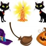 Halloween icons — Stock Vector #33355753