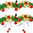Christmas garland — Stock Vector #33353547