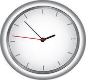 Round clock — Stock Vector
