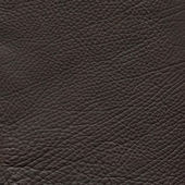 Brown leather texture closeup background. — Foto de Stock