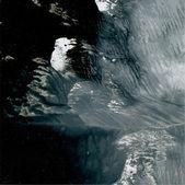 Dark monotypy background — Stok Vektör