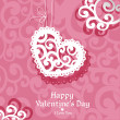 Valentine card — Vector de stock #39730849