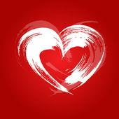 Coração de cartão do dia dos namorados — Vetorial Stock
