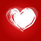 Cuore di carta di san valentino — Vettoriale Stock