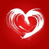 Valentine card heart — Stock Vector