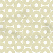 White circles on paper — Stock Vector