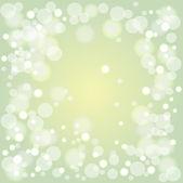 Shining green background — Stock Vector