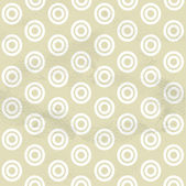 Seamless pattern from circles — Stock Vector
