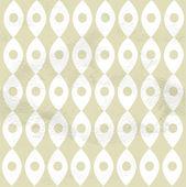 Seamless pattern from roundish rhombus — Vector de stock