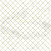 White pattern from the small lattice rhombuses — Stock Vector