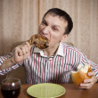 Eating. — Stock Photo