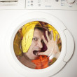 Stock Photo: Washing.