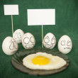 Eggs. - Stock Photo