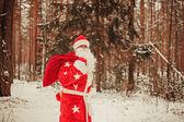 Święty Mikołaj. — Zdjęcie stockowe