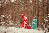 Santa claus. — Stockfoto