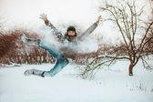Jumping. — Stock Photo