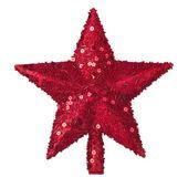 Golden star juldekoration — Stockfoto