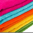 Colorful towel — Stock Photo
