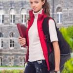Girl student — Stock Photo #47026209