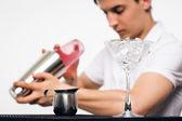 Bartender preparing coctail — Photo