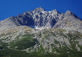 Gerlach Peak in Slovak High Tatras at summer — Stock Photo