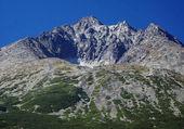 Gerlach Peak in Slovak High Tatras at summer — Stock Photo