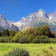 Royalty-Free Stock Photo: High Tatra Mountains in summer, Slovakia