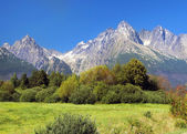 High Tatra Mountains in summer, Slovakia — Stock Photo