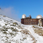 Observatory in High Tatras Skalnate pleso — Stock Photo