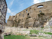 Interior fortification of Spis Castle — Stock Photo