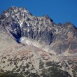 Gerlach Peak in Slovak High Tatras at autumn - Stock Photo