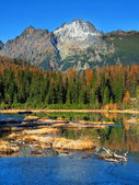 Nove Strbske Pleso, High Tatras in autumn — Stock Photo