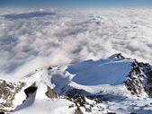 Widok z na łomnicki szczyt zimą — Zdjęcie stockowe
