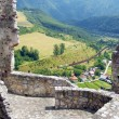 Постер, плакат: Summer view from castle of Strecno