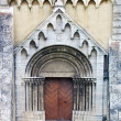Gate of Cathedral in Spisska Kapitula — Stock Photo