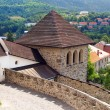Fortification tower of the Castle of Kremnica - Stock Photo