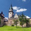Massive fortification of the Castle of Kremnica - Stock Photo