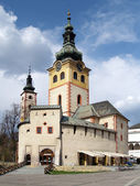 City Castle in Banska Bystrica — Stock Photo