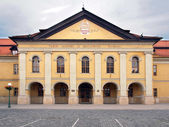 Historic Redoubt (present Library) in Kezmarok, National Cultural Heritage of Slovakia. — 图库照片