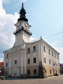 Historical town hall in Kezmarok — Stock Photo