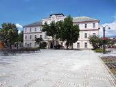 Historic County hall in Liptovsky Mikulas — Stock Photo