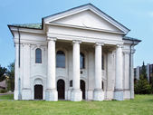 Former synagogue in Liptovsky Mikulas — Stock Photo