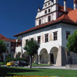 Unique town hall in Levoca — Stock Photo