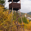 Watch tower in countryside — Stock Photo