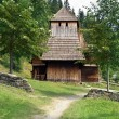 Rare wooden church in Zuberec — Stock Photo